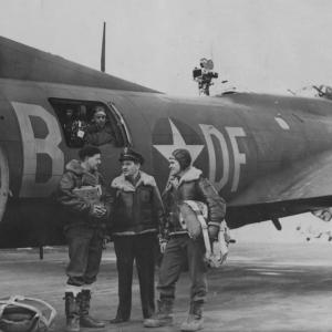 William Wyler at RAF Bassingbourn