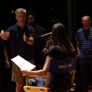 Ted directing the best talent in the world
